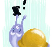 Mister Snail Greets You by hypeu