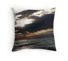 In the dark corners of earth Throw Pillow