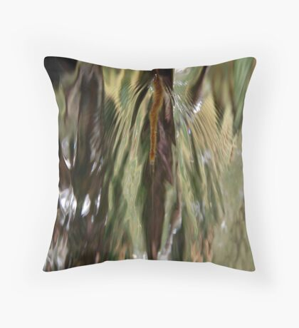 Dances with Water Throw Pillow