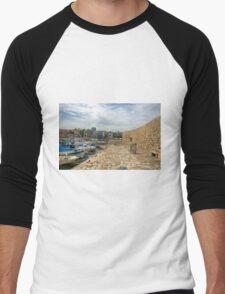 Venetian Harbour Walkway Men's Baseball ¾ T-Shirt