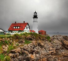 Portland Head Lighthouse by Ron Risman