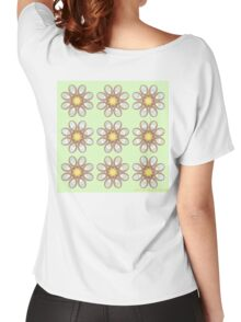 Calla Lily Foot Flowers Women's Relaxed Fit T-Shirt
