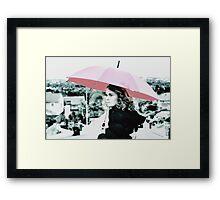 nini on meadowridge Framed Print