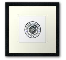 Bukowski Pee Framed Print