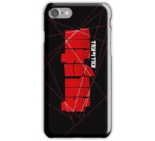 Kill la Kill Logo Lines iPhone Case/Skin