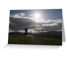 the commando memorial Greeting Card
