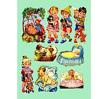 Babies Photographic Print