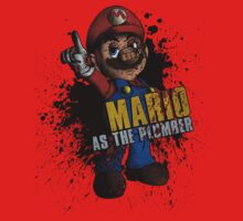 Borderlands - Mario As The Plumber by creepingdeath90