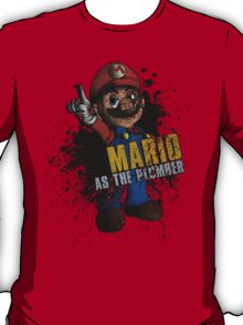 Borderlands - Mario As The Plumber T-Shirt