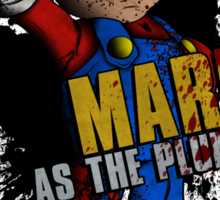 Borderlands - Mario As The Plumber Sticker