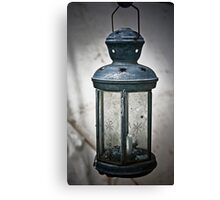 Old Army Lantern Canvas Print
