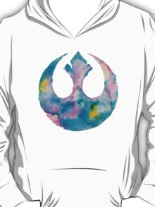 Watercolor Rebel Alliance 2 T-Shirt