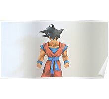 photo shoot with goku  Poster