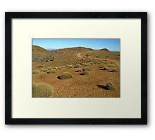 Sky Trek, FlindersRanges,S.A. Framed Print