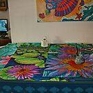 The Waterlilies Sereis in Watercolour by Nira Dabush
