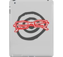 Your Red Glasses  iPad Case/Skin