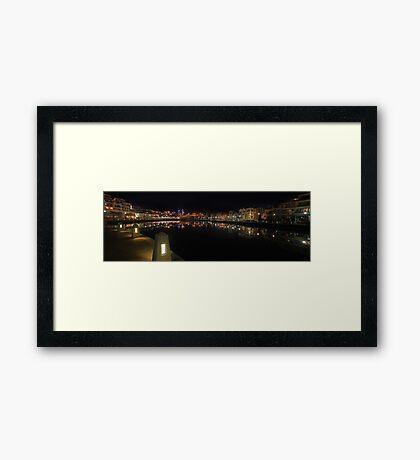 Claisebrook Cove - East Perth  Framed Print