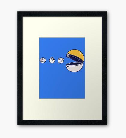 Pacemon Framed Print