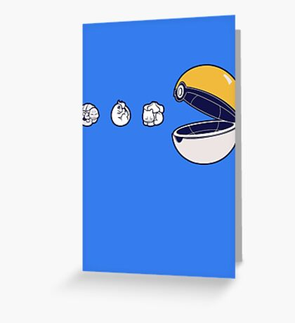 Pacemon Greeting Card