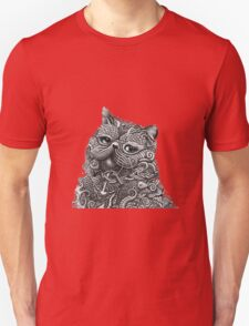 Cheshire Sketch Cat T-Shirt