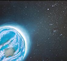 Stellar Sunrise by Leane Stitzinger