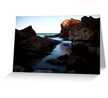 Rocky Haven. Greeting Card