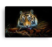 Tiger, Tiger, Burning Bright Canvas Print
