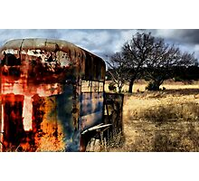 Out To Pasture   ( BoneYard Series ) Photographic Print