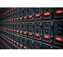 Mailboxes Photographic Print