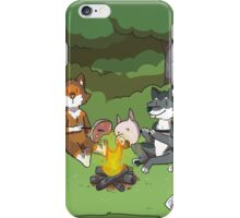 Campfire Wolves iPhone Case/Skin