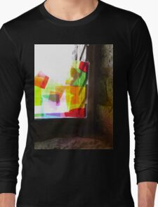Acrylic Boathouse- Sweet Wrapper Sculpture Long Sleeve T-Shirt