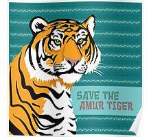 Save the Amur Tiger Poster