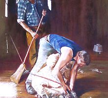 'Men at Work' by Lynda Robinson