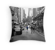 City Jogger Throw Pillow