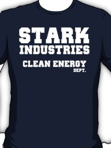 Stark Industries Clean Energy Dept. T-Shirt