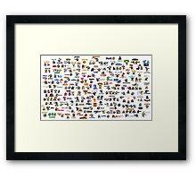 Videogames Framed Print