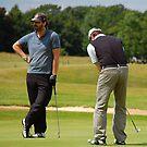 Pro Am Golfers by Paul Morley