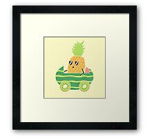 Summer Drive Framed Print