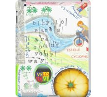 Bicycle races  iPad Case/Skin