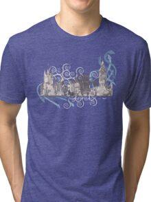 I Live by the River Tri-blend T-Shirt
