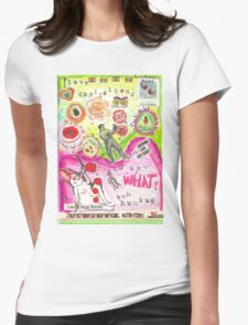 Love is duplicitous  Womens Fitted T-Shirt