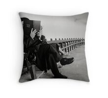 Westcliff promenade. Throw Pillow