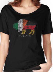Buffalo Roots - German Irish Women's Relaxed Fit T-Shirt
