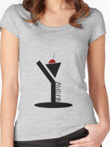 Classy Women's Fitted Scoop T-Shirt