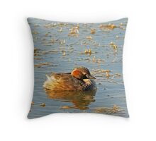 'alone' Throw Pillow