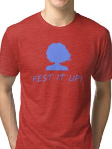 Fest it up! ~Hanasaku Iroha Tri-blend T-Shirt