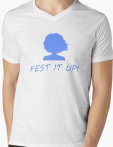 Fest it up! ~Hanasaku Iroha Mens V-Neck T-Shirt