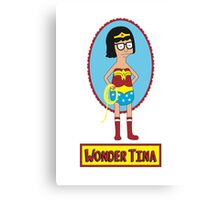 Wonder Tina Canvas Print