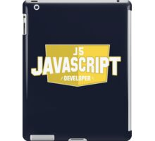 javascript developer iPad Case/Skin
