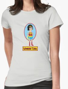 Wonder Tina Womens Fitted T-Shirt